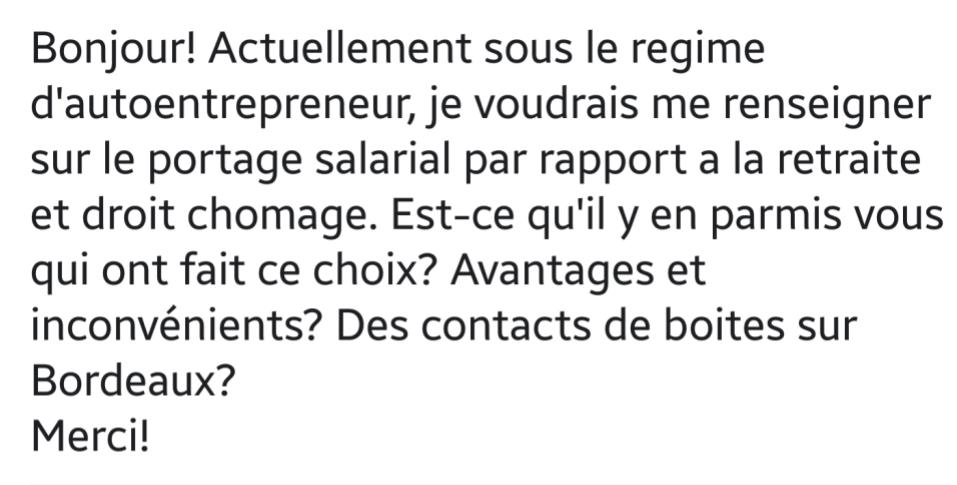 Question d'entrepreneur 1