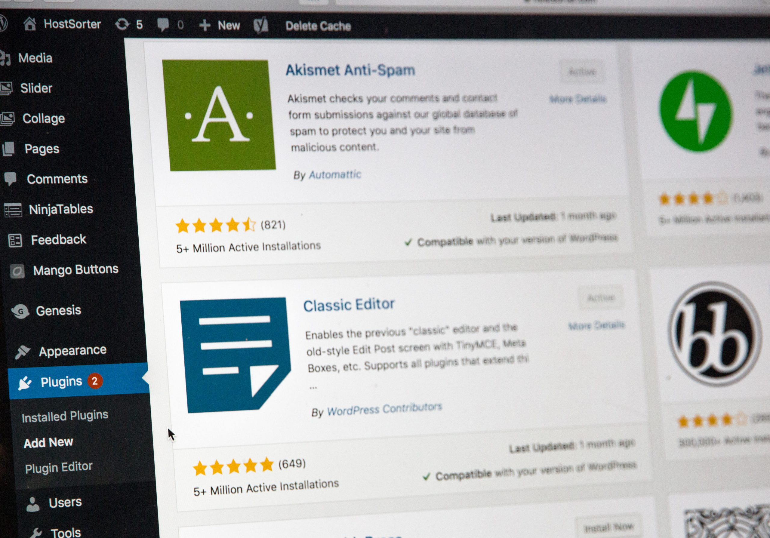 Assistance technique WordPress